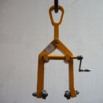 Pince à roue avec roulettes