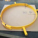 Clef de serrage pour électrodes graphite