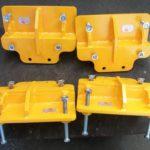 Paire d'outils pour pose et dépose étrier frein boogie moteur AGC