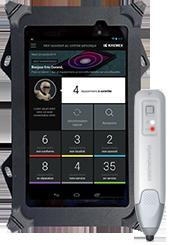 Tablette,coque et stylet NFC de TEMIS by GK